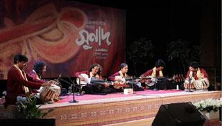 সংগীতাসর 'সুনাদ' এ নবীন শিল্পীদের মনোমুগ্ধকর পরিবেশনা