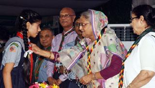 'প্রত্যেক নারী শিক্ষা প্রতিষ্ঠানে গার্ল গাইডস শাখা খোলা হবে'