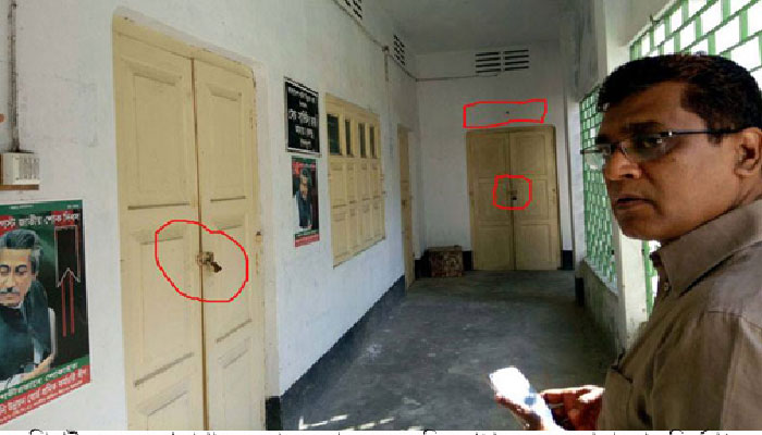 ঝটিকা পরিদর্শনে ফাঁকিবাজ কর্মকর্তাদের শনাক্ত করলেন জেলা প্রশাসক