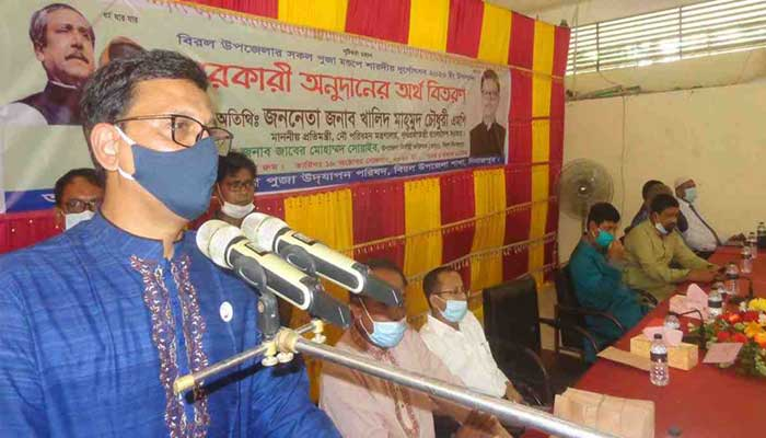 পরাশক্তিগুলো বাংলাদেশকে মর্যাদার চোখে দেখে: খালিদ মাহমুদ