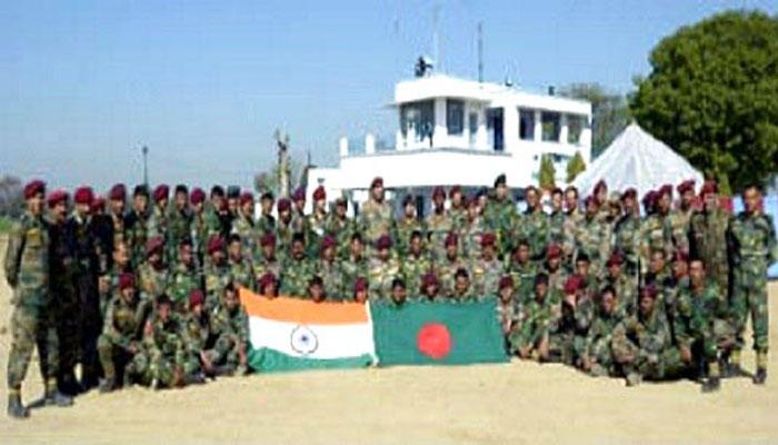 বাংলাদেশ-ভারত যৌথ সামরিক মহড়া 'সম্প্রীতি-৮' শুরু শনিবার
