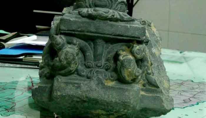 ঠাকুরগাঁওয়ে কষ্টিপাথরের মূর্তি উদ্ধার