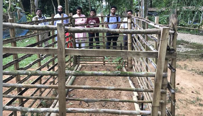 'প্রাণিবন্ধু'র সমাধিতে জিজেএ'র নেতৃবৃন্দ
