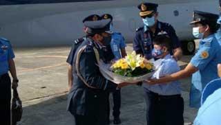 Indian Air Force Chief begins three-day visit to Bangladesh