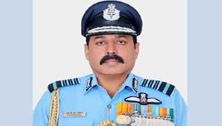 ঢাকা সফরে ভারতীয় বিমানবাহিনী প্রধান