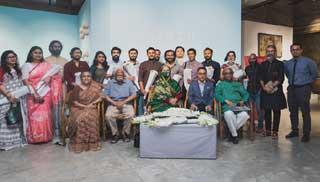 চারুকলা প্রদর্শনী 'বৃহত্ত্ব হোম আর্ট প্রোজেক্ট ২০২০'এর উদ্বোধন