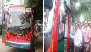 বান্দরবানে বিআরটিসি'র এসি বাস সার্ভিস চালু
