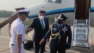 তিন দিনের সফরে ঢাকায় ভারতীয় বিমানবাহিনী প্রধান