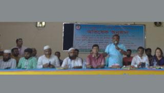 শাজাহানপুর প্রেস ক্লাবের নবনির্বাচিত কমিটির অভিষেক