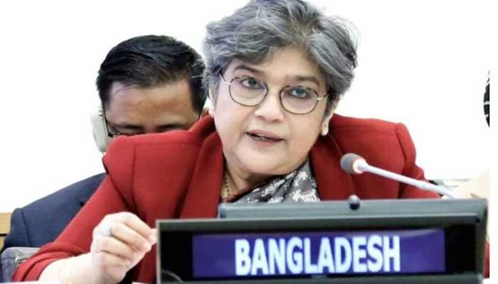 পারমাণবিক অস্ত্র মুক্ত বিশ্ব চাই: রাবাব ফাতিমা