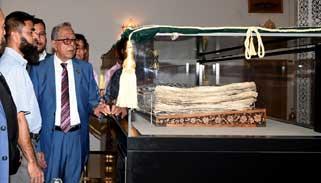 তাশখন্দে রাষ্ট্রপতির টেক্সটাইল কারখানা ও জাদুঘর পরিদর্শন