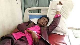 শুটিংয়ে আহত হিরো আলম