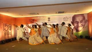 ঢাকায় মহাত্মা গান্ধীর সার্ধশততম জন্মবার্ষিকী উদযাপন