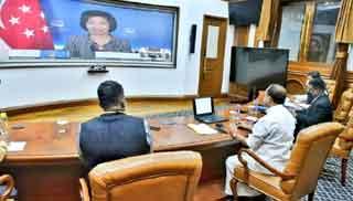 India, Singapore agree to strengthen their strategic partnership