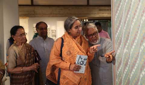 বেঙ্গল শিল্পালয়ে পাঁচ সপ্তাহব্যাপী জামদানি উৎসব শুরু