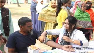 মাজেদা ফাউন্ডেশনের মহানুভব উদ্যোগ: ৫ টাকায় চিকিৎসা সেবা