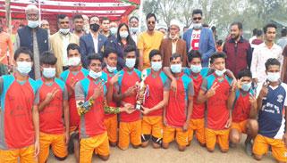 মুজিববর্ষে গফরগাঁওয়ে ভলিবল প্রতিযোগিতা