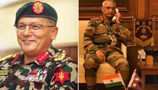 Gen Naravane-Gen Purnadiscuss bilateral defence cooperation