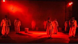 বাকশিল্পাঙ্গনের আবৃত্তি প্রযোজনা 'দেশ ছাড়া ঘর হারা'