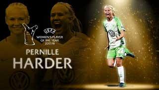 উয়েফা বর্ষসেরা নারী ফুটবলার ডেমার্কের পার্নিল হার্ডার