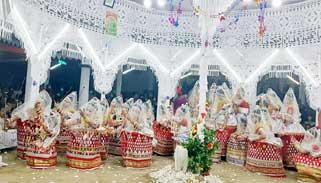 কমলগঞ্জে মণিপুরি মহারাস উৎসব সম্পন্ন