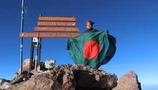 চিত্রাপাড়ের রত্নাছুঁতে চানপাঁচ মহাদেশের দ্বিতীয় সর্বোচ্চ চূড়া