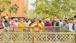 শ্রদ্ধায় স্মৃতিতর্পণে রহমত আলীকে স্মরণ করলো শ্রীপুরবাসী