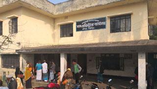 শ্রীপুর সাব-রেজিস্ট্রি অফিস: কলম বিরতিতে জনদুর্ভোগ