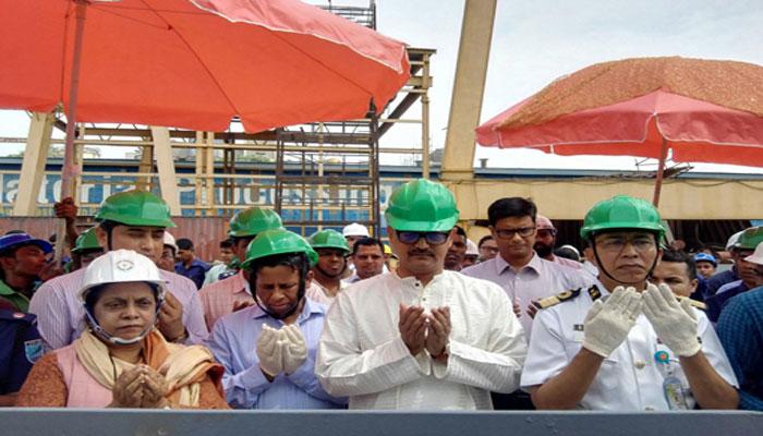 ৪৫টি টার্মিনাল পন্টুন নির্মাণ করছে সরকার : নৌপরিবহন প্রতিমন্ত্রী
