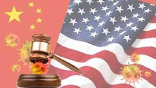 করোনাভাইরাস : চীনের বিরুদ্ধে ২০ ট্রিলিয়ন ডলারের মামলা