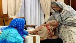 স্বজন হারানোর বেদনা আমি বুঝি : আবরারের বাবা-মাকে প্রধানমন্ত্রী