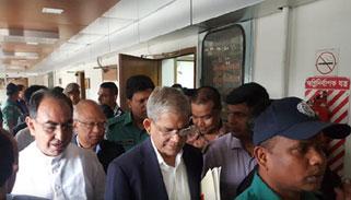 খালেদা জিয়ার সুচিকিৎসার আশ্বাস দিয়েছেন স্বরাষ্ট্রমন্ত্রী:ফখরুল
