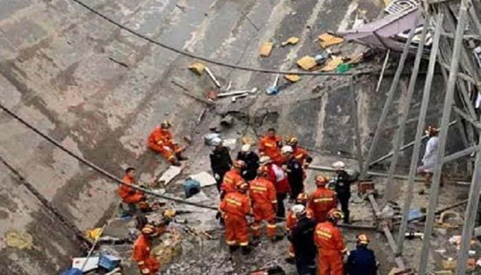 চীনে সুয়ায়েজ ট্যাঙ্ক ধসে ৯ জনের মৃত্যু
