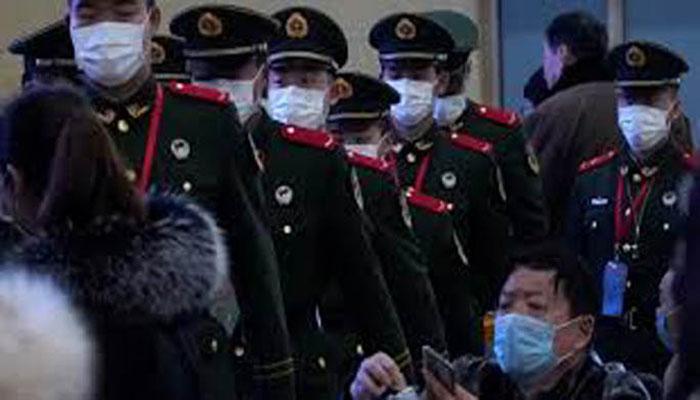 চীনে ভাইরাসের উৎপত্তিকেন্দ্রে ৪৫০ সামরিক মেডিকেল স্টাফ মোতায়েন