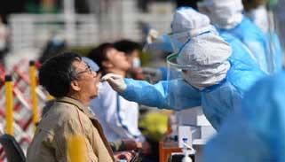 জিনজিয়াংয়ের পুরো কাশগড় শহরে কোভিড-১৯ পরীক্ষা করছে চীন