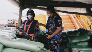 কঙ্গোর এয়ারপোর্ট সুরক্ষার দায়িত্বে বাংলাদেশের নারী শান্তিরক্ষীরা