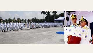 নৌবাহিনীর প্রতি দক্ষতার সঙ্গে কাজ করার আহ্বান রাষ্ট্রপতির