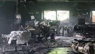 গুজরাটে করোনা হাসপাতালে আগুন : নিহত ৮ রোগী