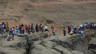মিয়ানমারে খনিধসে নিহত ৫০ ঘুমন্ত শ্রমিক