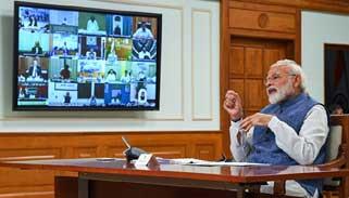 ভারত নজির সৃষ্টি করেছে : ভিডিও বার্তায় বললেন মোদী