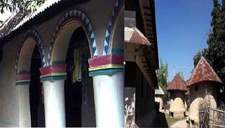 ঐতিহ্য বহনকারী মাটির ঘরের গ্রাম 'ধানজুড়ি'