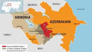 মার্কিন মধ্যস্থতায় যুদ্ধবিরতিতে আজারবাইজান এবং আর্মেনিয়া