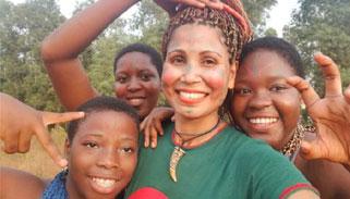 বাংলাদেশি নারী নাজমুন নাহারের আফ্রিকা দর্শন