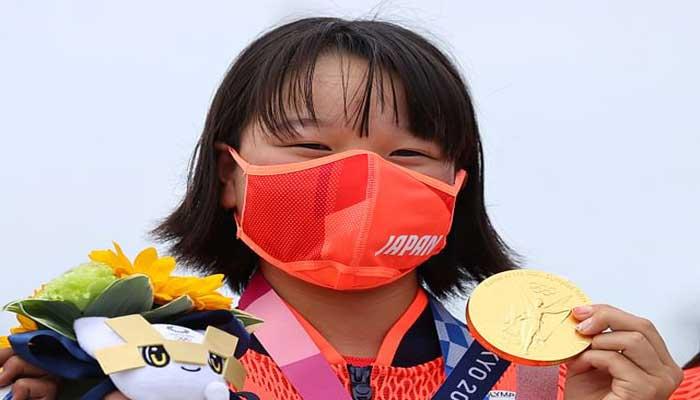 অলিম্পিকের সর্বকনিষ্ঠ স্বর্ণ জয়ী জাপানের নিশিয়া