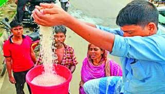 ১০ টাকা কেজি দরে চাল বিক্রি শুরু হচ্ছে রোববার