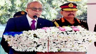 জাতীয় পতাকা বহনের সুযোগ সবার জীবনে আসে না : রাষ্ট্রপতি