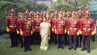 ঢাকাস্থ ভারতীয় হাই কমিশনের প্রজাতন্ত্র দিবস উদযাপন