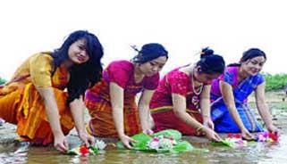 বান্দরবানে ঘরোয়া আয়োজনে হবে সাংগ্রাই উৎসব
