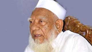 আহমদ শফীর দাফন মাদ্রাসা ক্যাম্পাসেই