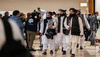 দোহায় বৈঠকে আফগান সরকার ও তালেবান প্রতিনিধিরা